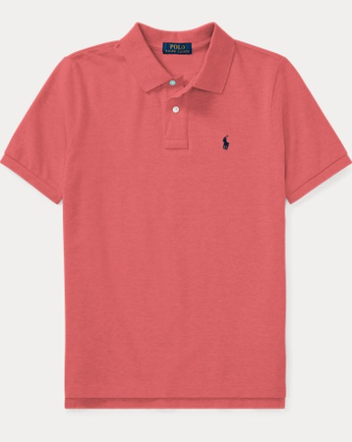Cotton Mesh Polo Shirt