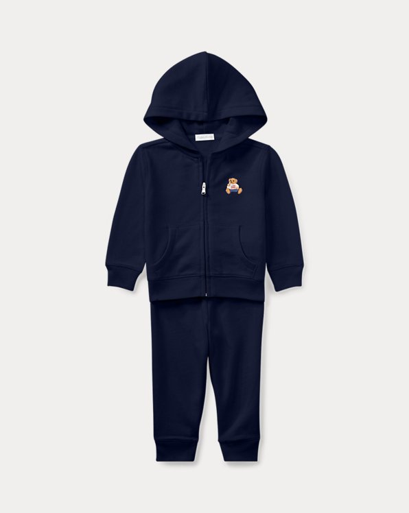 Polo Bear French Terry Hoodie & Pant Set