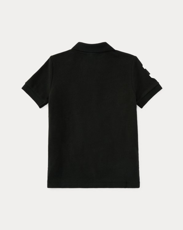 Big Pony Cotton Mesh Polo Shirt