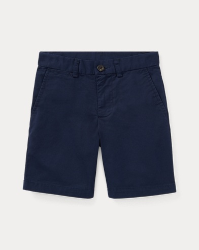 Straight Fit Chino Short