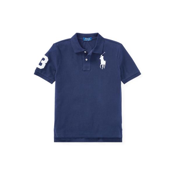 폴로 랄프로렌 보이즈 폴로셔츠 Polo Ralph Lauren Big Pony Cotton Mesh Polo,French Navy