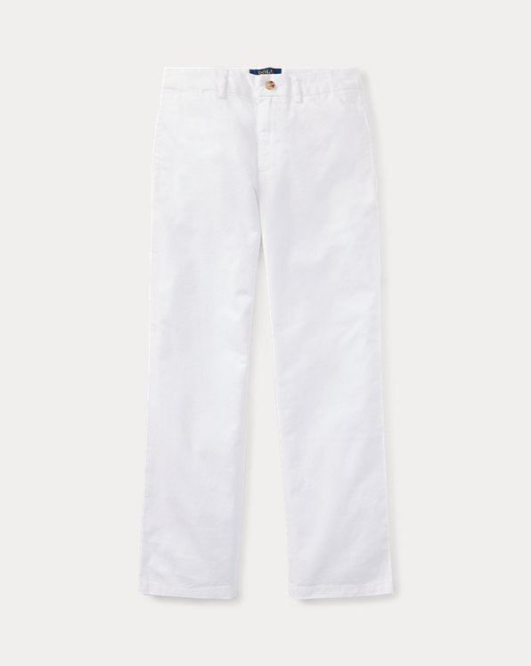 Straight Fit Stretch Twill Pant