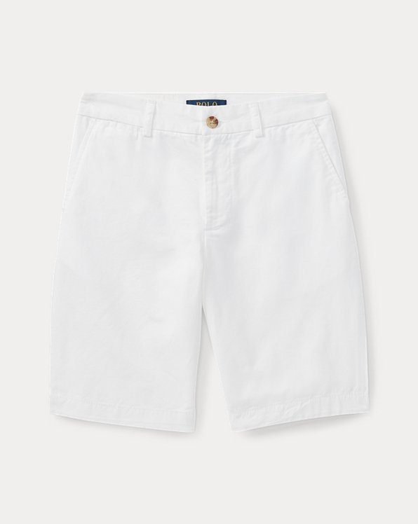 폴로 랄프로렌 보이즈 반바지 Polo Ralph Lauren Straight Fit Chino Short,White