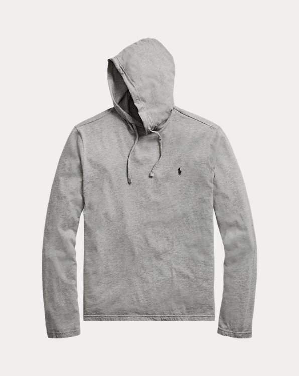 Cotton Jersey Hooded T-Shirt