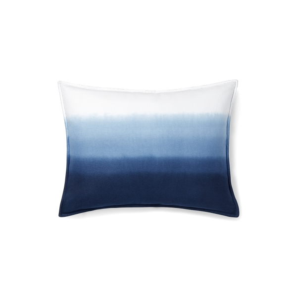 Lauren Ralph Lauren Home Flora Dip-dyed Throw Pillow In Blue