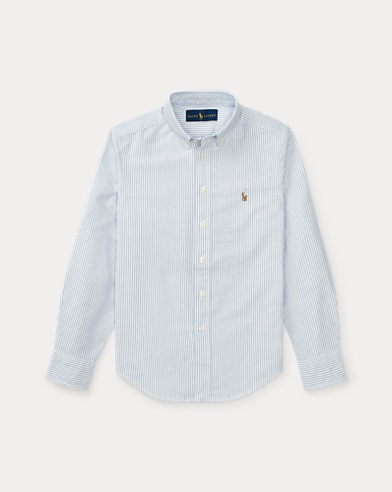 Camicia Oxford in cotone Custom-Fit
