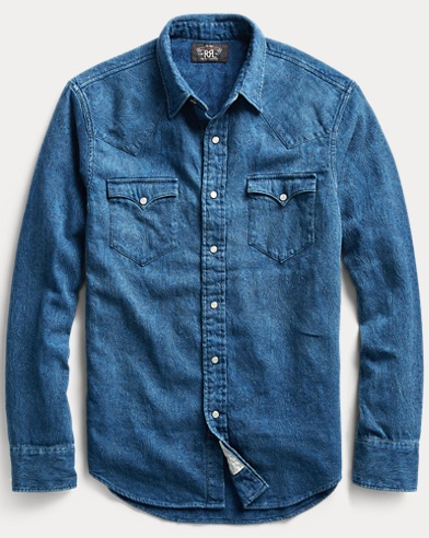 Buffalo Indigo Denim Shirt