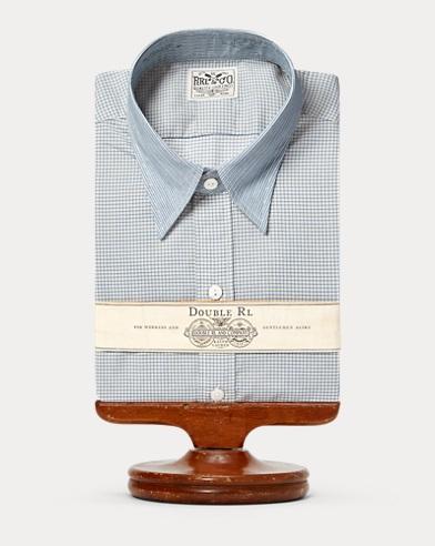 Eli Print Cotton Dress Shirt