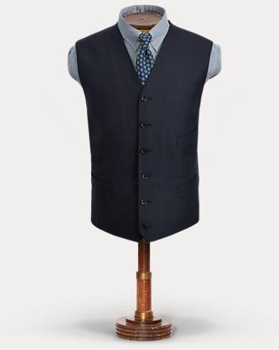 Birdseye Wool Vest