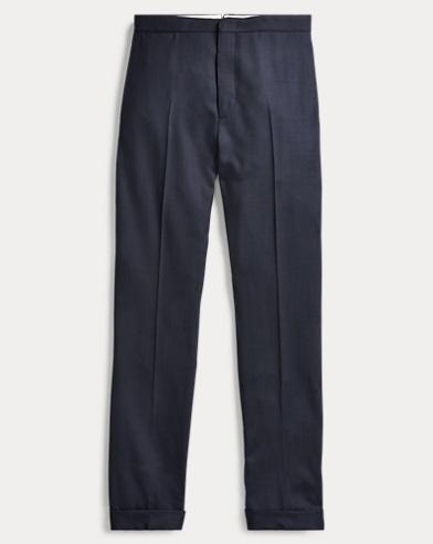 Birdseye Wool Trouser
