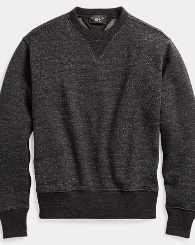 Cotton-Wool Crewneck Jumper
