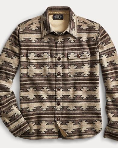 Knit Wool-Cashmere Workshirt