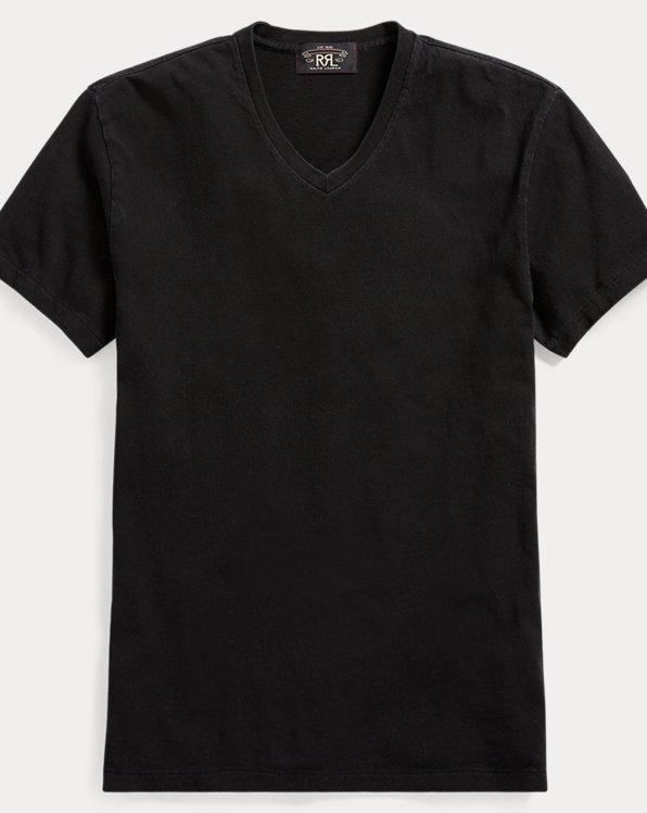 T-shirt en jersey de coton indigo