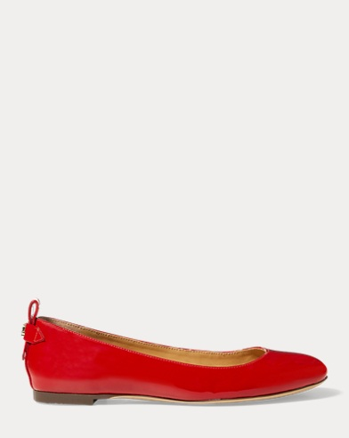 Glenna Patent Leather Flat