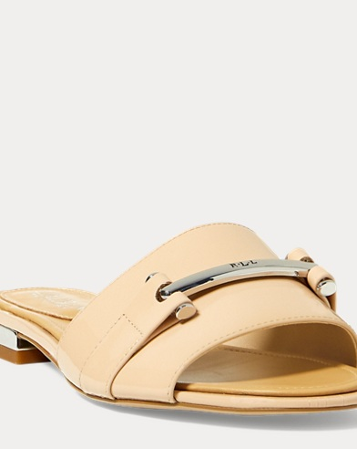 Davan Patent Leather Sandal