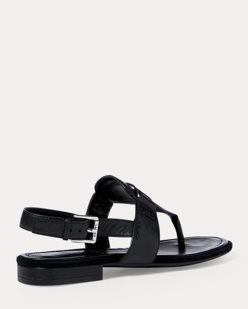 1fadc21b11ef Lauren Dayna Leather Thong Sandal 3