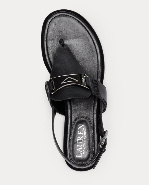 dafbafc51c10 Lauren Dayna Leather Thong Sandal 4