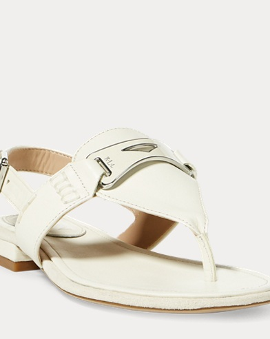 Dayna Leather Thong Sandal