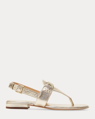 Metallic-Sandale Dayna