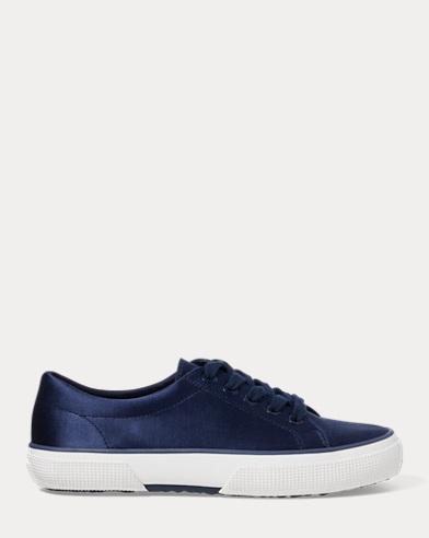 Jolie Satin Low-Top Sneaker