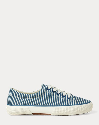 Jolie Striped Canvas Sneaker