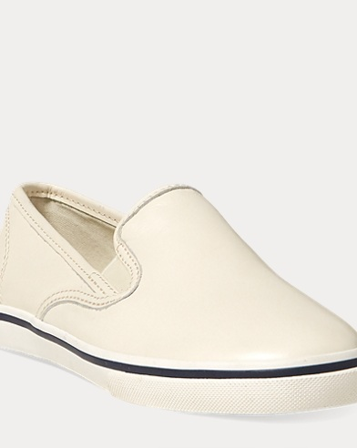 Janis Leather Slip-On Sneaker