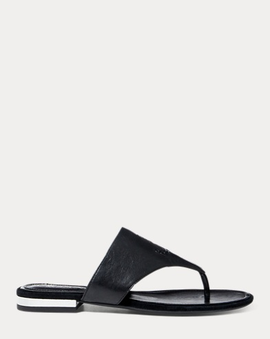 Davan Leather Slide Sandal