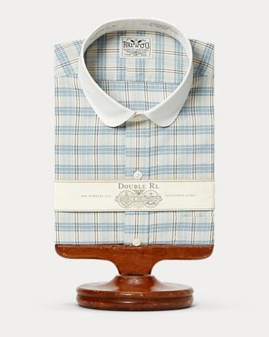 Checked Cotton Dress Shirt