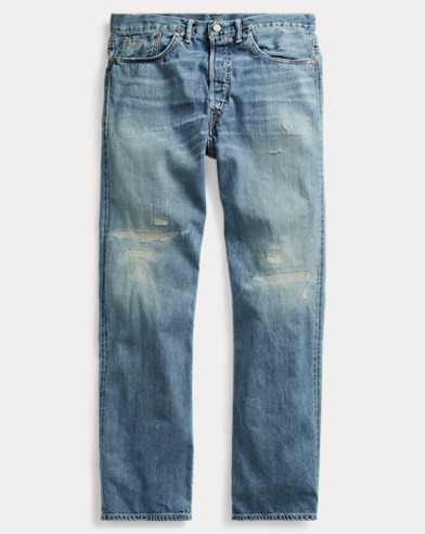 Relaxed-Fit Selvedge-Jeans