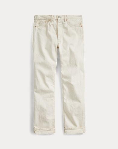 Straight Fit Selvedge Jean