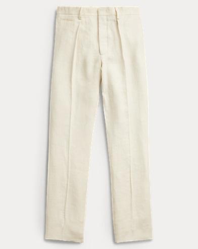 Slim Fit Linen Suit Trouser