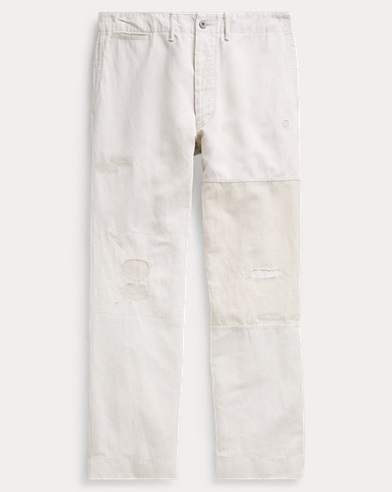 Cotton-Linen Field Chino