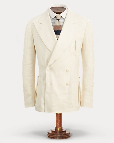 Linen Tweed Suit Jacket