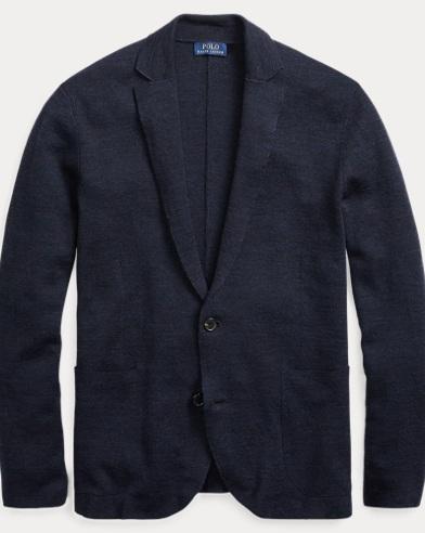 Linen-Wool Cardigan