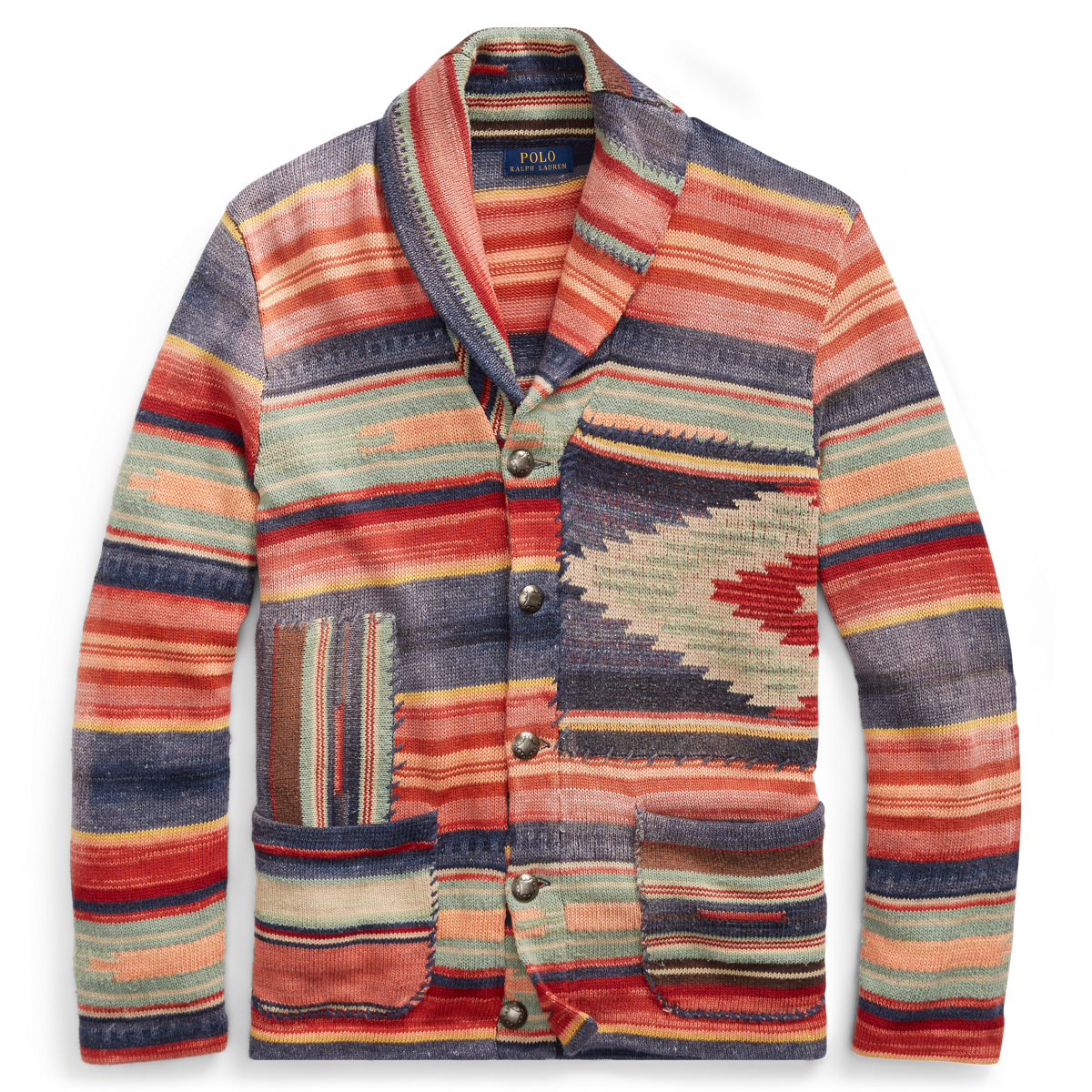 dc7a2d22c1e18 Patterned Shawl Cardigan