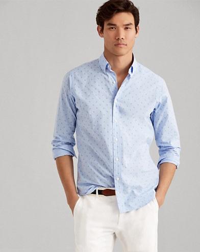 Camicia con ancore Classic-Fit