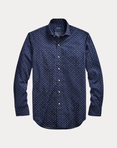 Camicia geometrica Classic-Fit