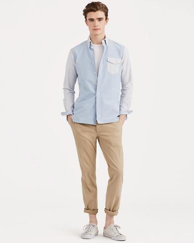 Camicia patchwork Classic-Fit