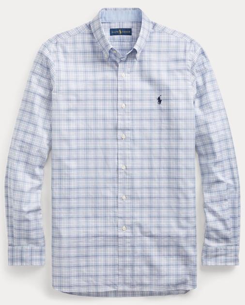 56c8183c2 Polo Ralph Lauren Classic Fit Plaid Twill Shirt 1