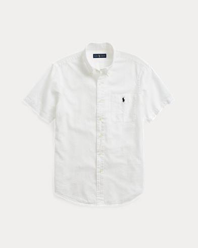b07a83f09 Classic Fit Seersucker Shirt. Polo Ralph Lauren