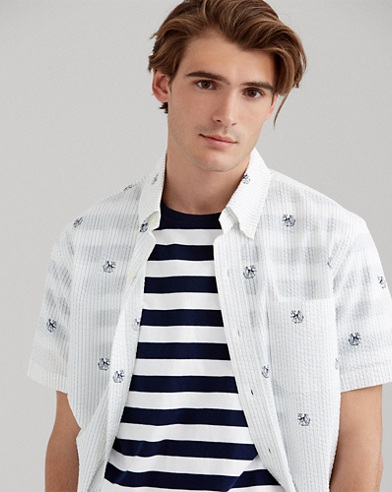Classic Fit Nautical Shirt