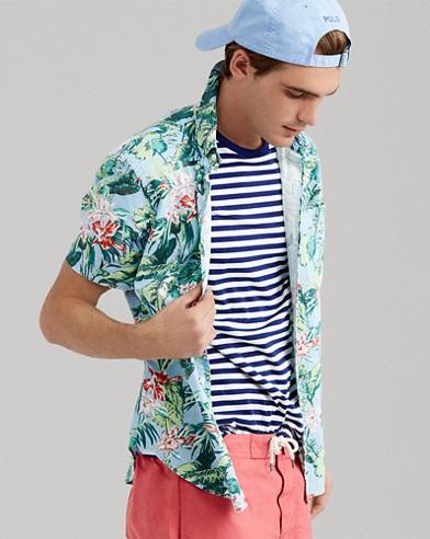 Camicia hawaiana Classic-Fit