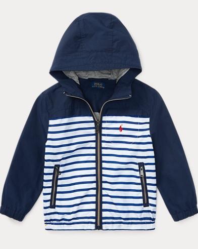 Cotton-Blend Hooded Jacket