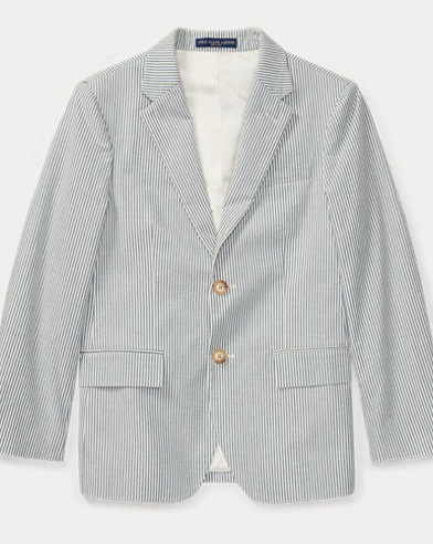 Polo Seersucker Sport Coat