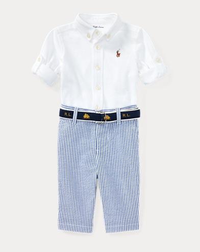 Shirt, Belt & Pant Set