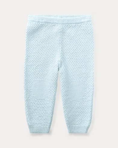 Knitted Cotton Pull-On Trouser