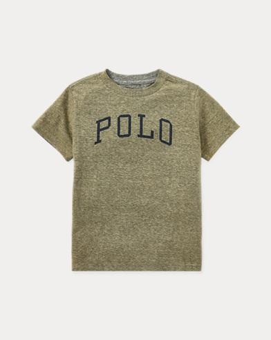Cotton-Blend Graphic T-Shirt
