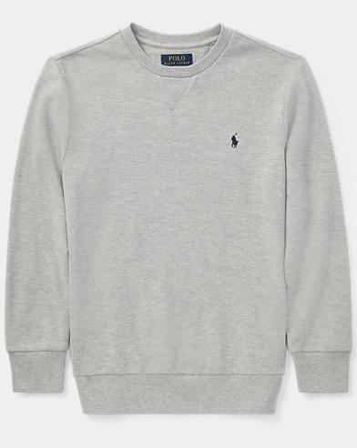 Cotton Mesh Sweatshirt