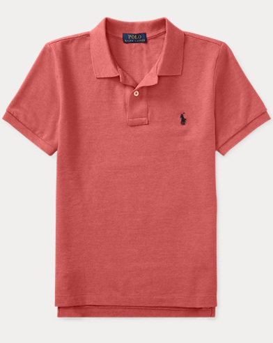 Custom Fit Cotton Mesh Polo