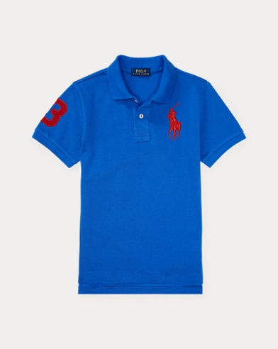 Custom-Fit Polo aus Baumwollpiqué